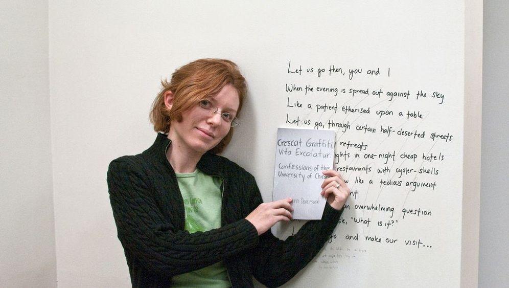 Studentische Wand-Kritzelei: Liebe, Sex und Abschlussprüfungen