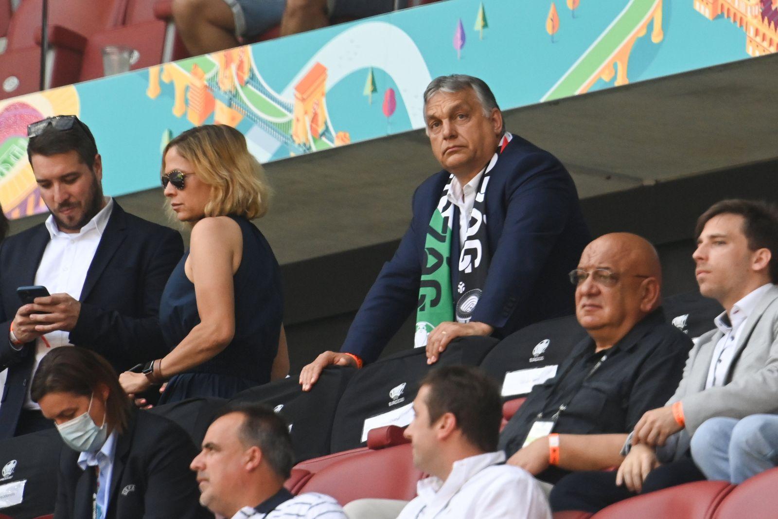 Fußball EM - Ungarn - Frankreich