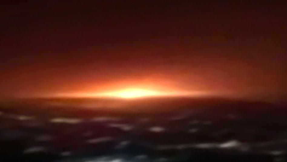 Explosion in der Nähe der iranischen Hauptstadt Teheran (Quelle: Iranisches Staatsfernsehen vom 26. Juni 2020)