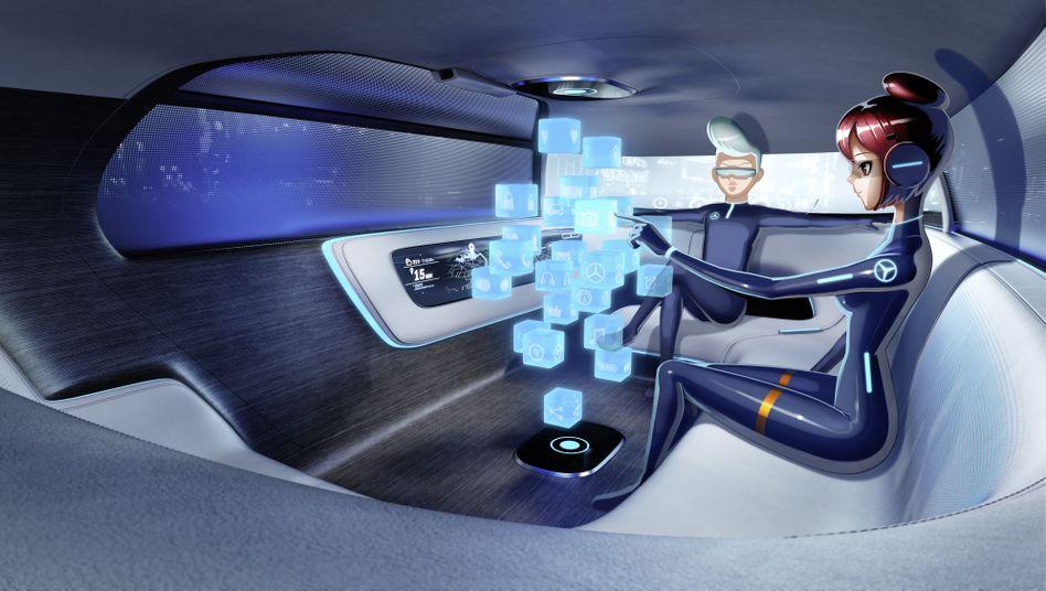 Daimler-Designstudie zum autonomen Fahren