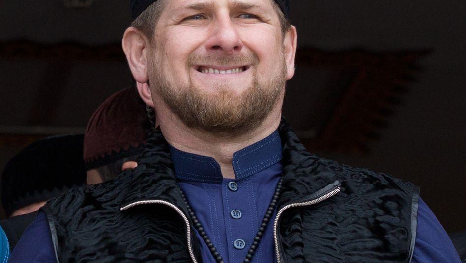 Tschetschenen-Präsident Kadyrow: PR-Aktion in Kiel