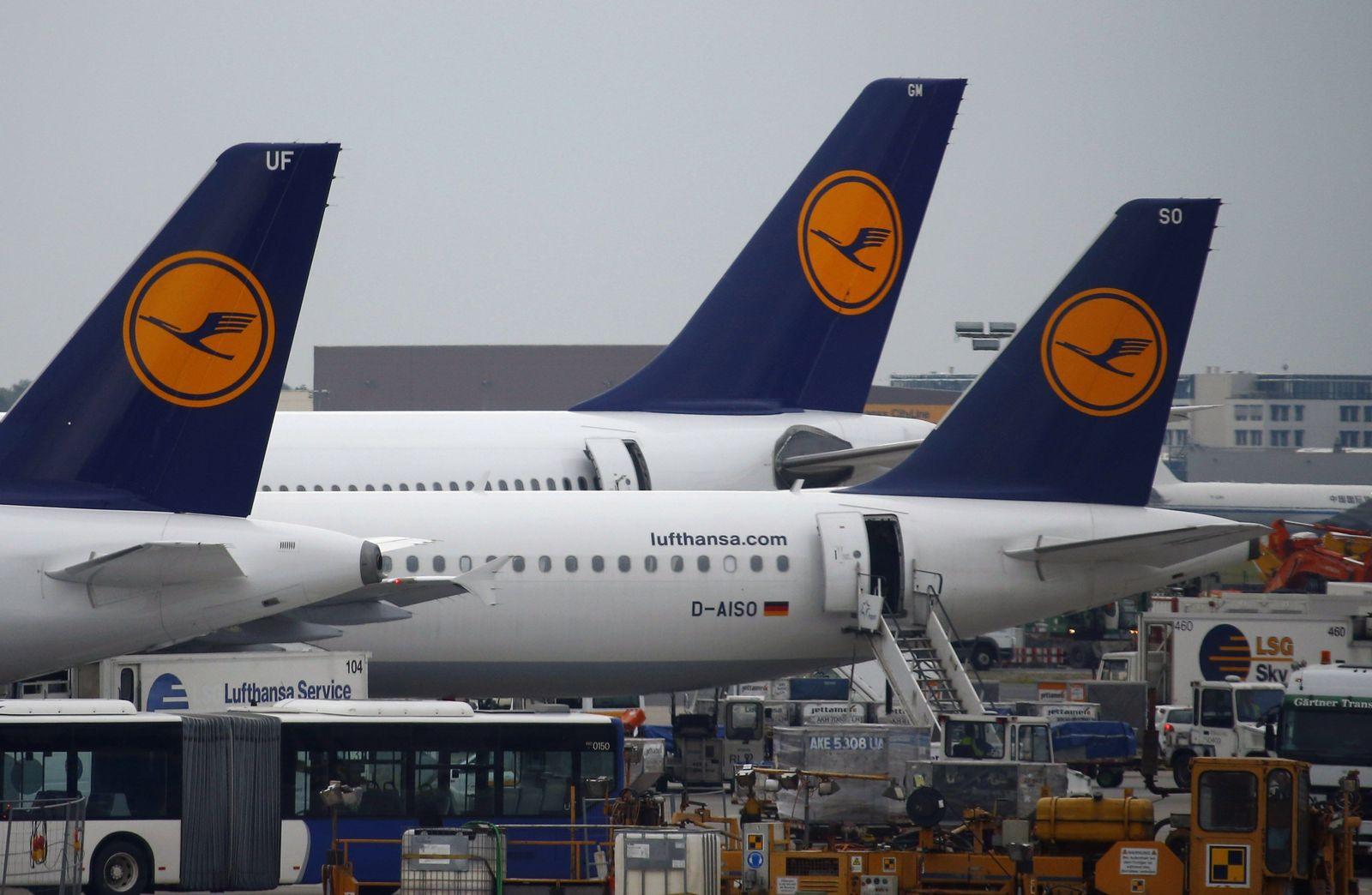 GERMANY-AIRPORT/STRIKE Lufthansa