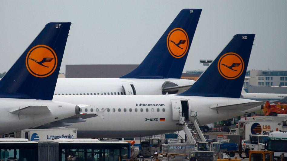 Lufthansa-Maschinen in Frankfurt: Übermächtige Konkurrenz