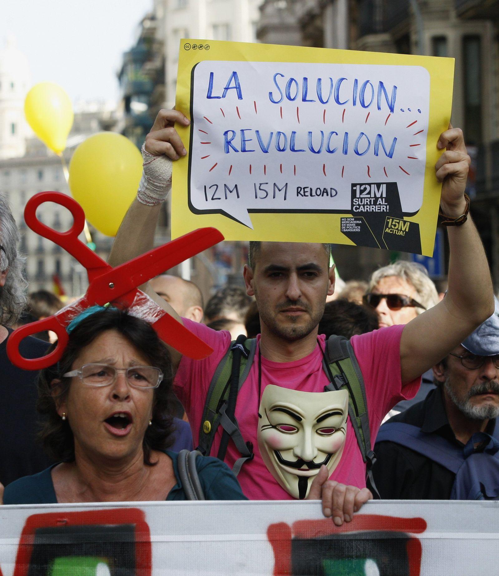 Spanien Proteste