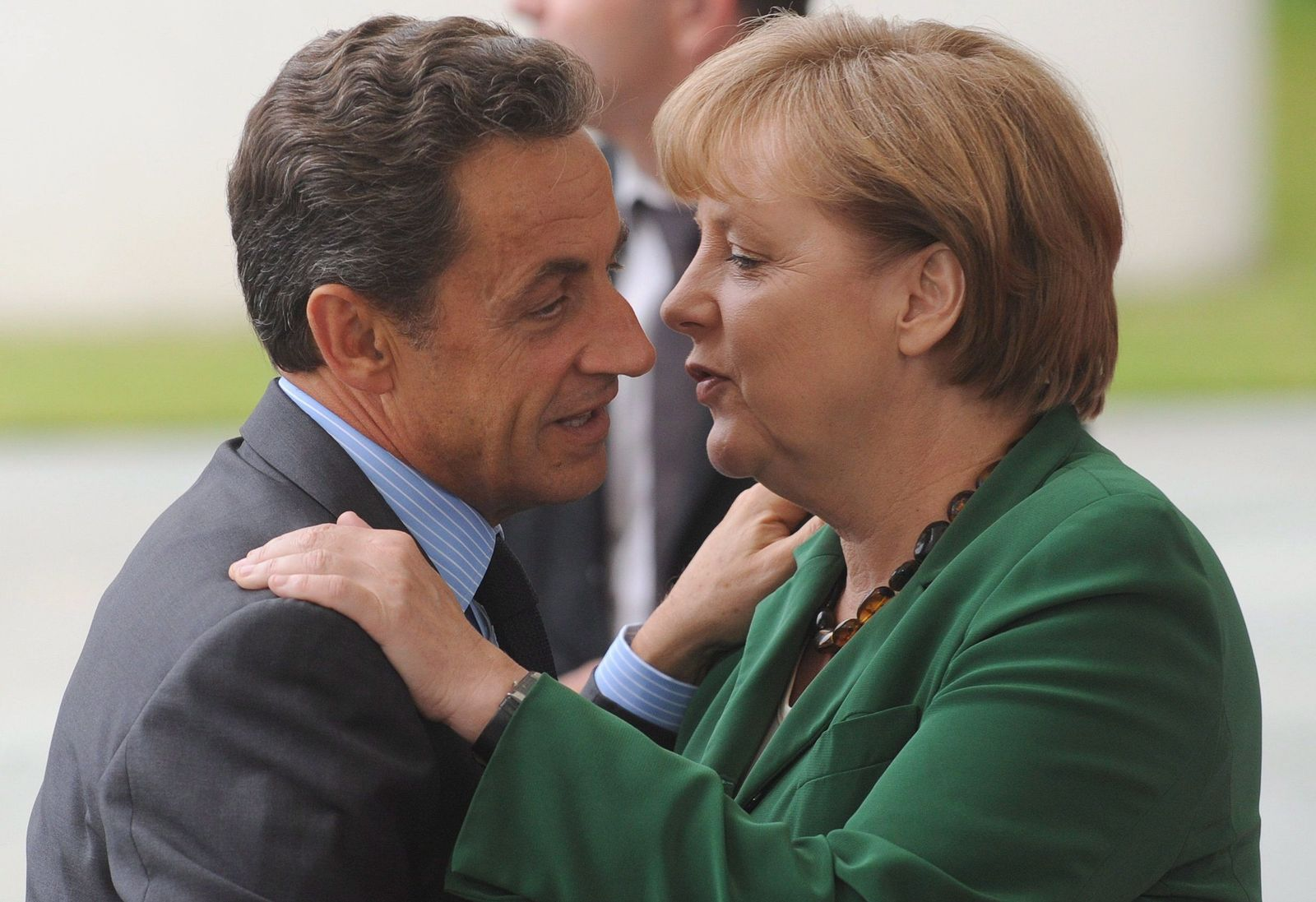 Angela Merkel/ Nicolas Sarkozy XXL