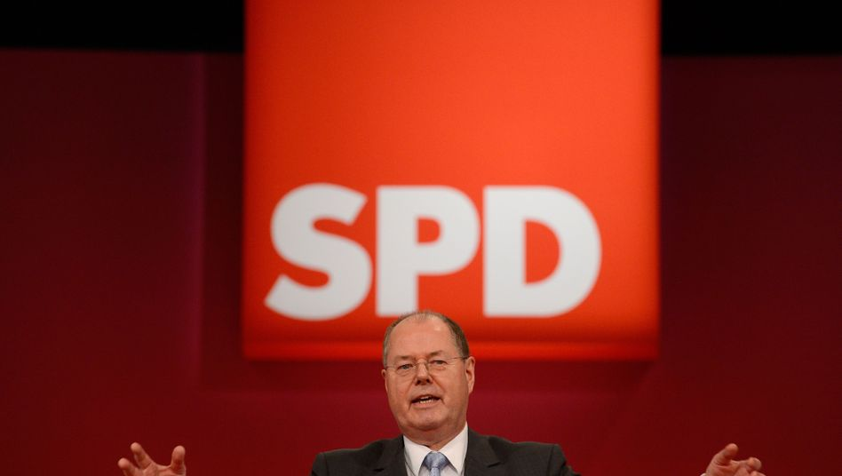 SPD-Kanzlerkandidat Peer Steinbrück: Rede über den Verlust an Gerechtigkeit