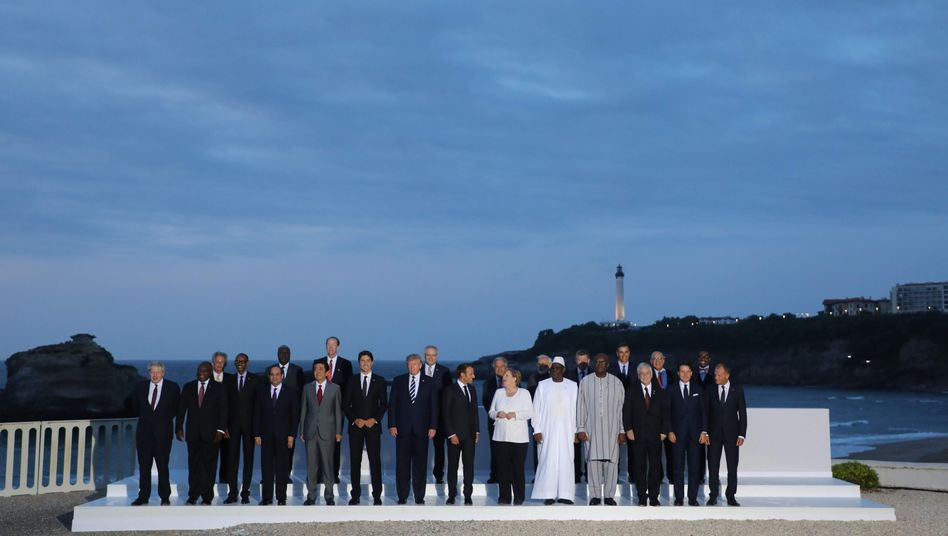 Die G7-Anführer: Gleichstellung geht nicht?
