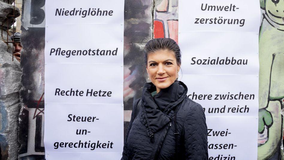 Wagenknecht in Berlin