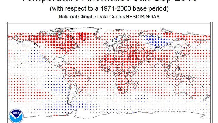 Klimaerwärmung: Neue Daten zeigen Rekordwerte