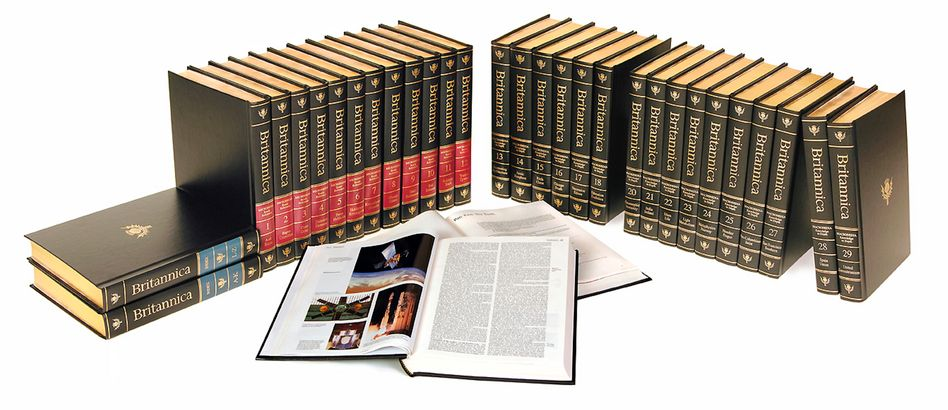 Encyclopaedia Britannica: Print-Version wird eingestellt
