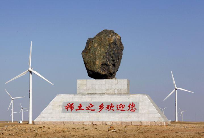 """Chinesische Stadt Damo: """"Willkommen in der Region der Seltenen Erden"""""""