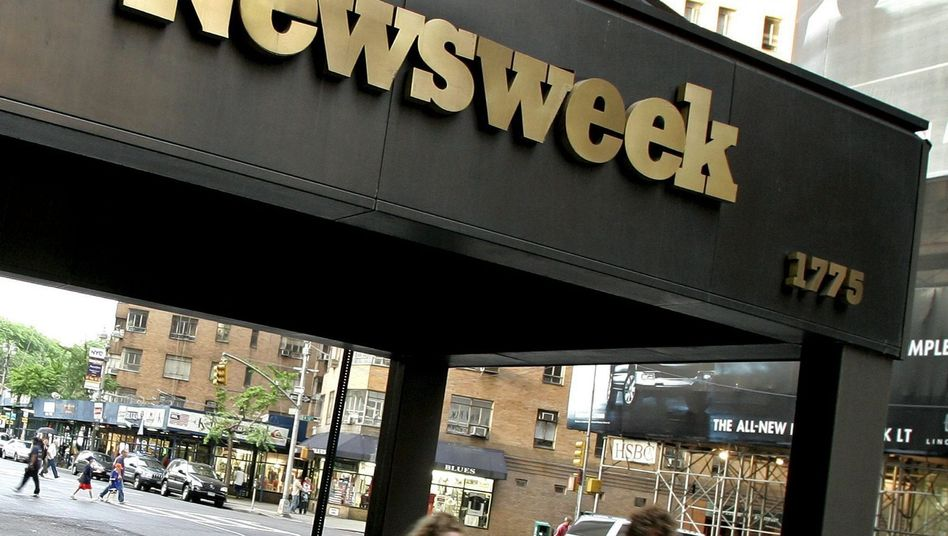 """Newsweek""-Zentrale in New York: Verkauf an Hi-Fi-Millionär Sidney Harman"