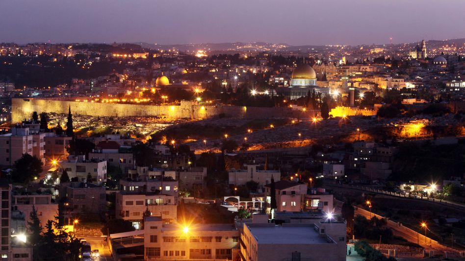 Blick auf Jerusalem (Archivbild): Angriff der Hamas