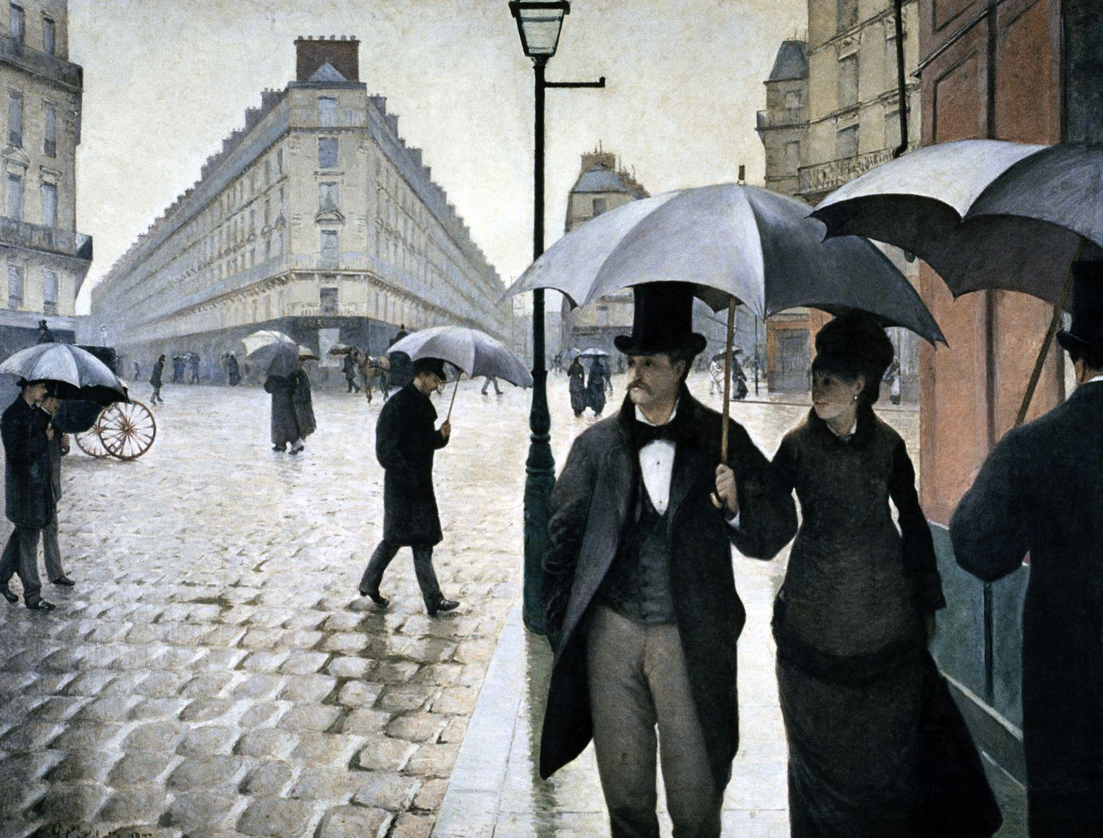 NICHT MEHR VERWENDEN! - Paris / A Rainy Day von Gustave Caillebotte