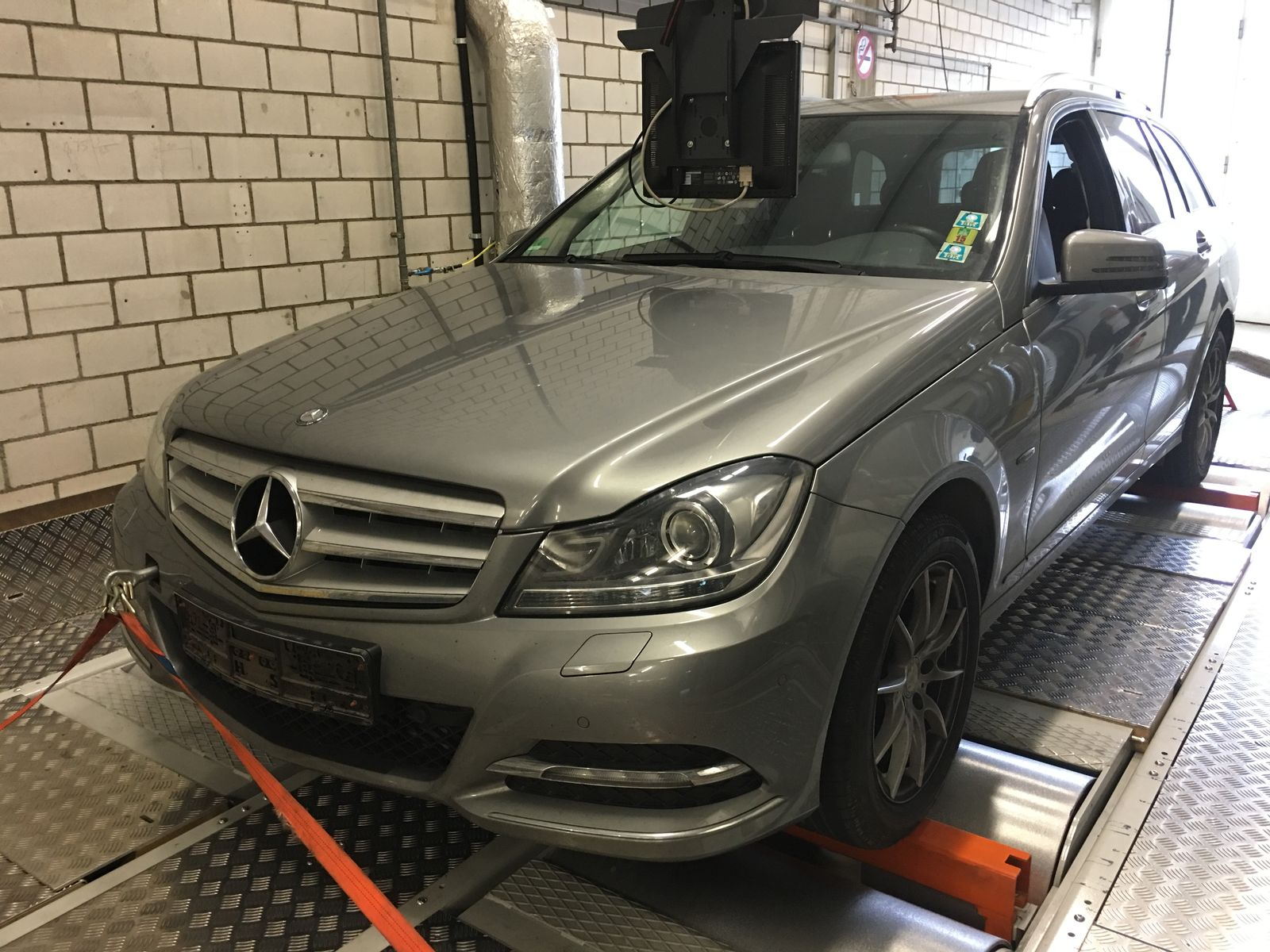 DUH/ Mercedes/ Abgastest