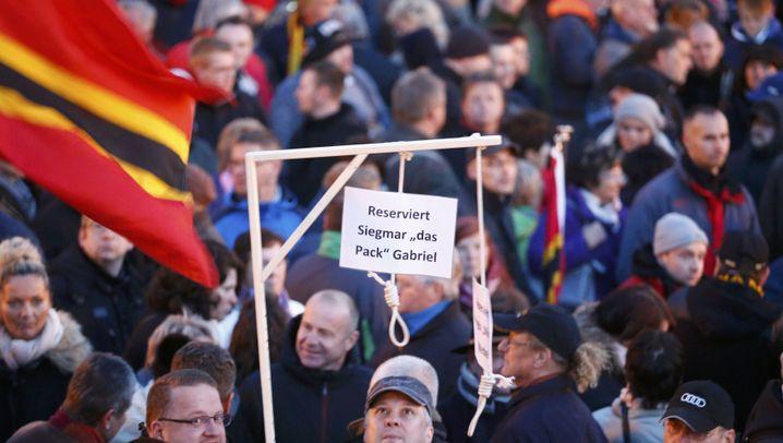 Dresden: Zulauf für Pegida