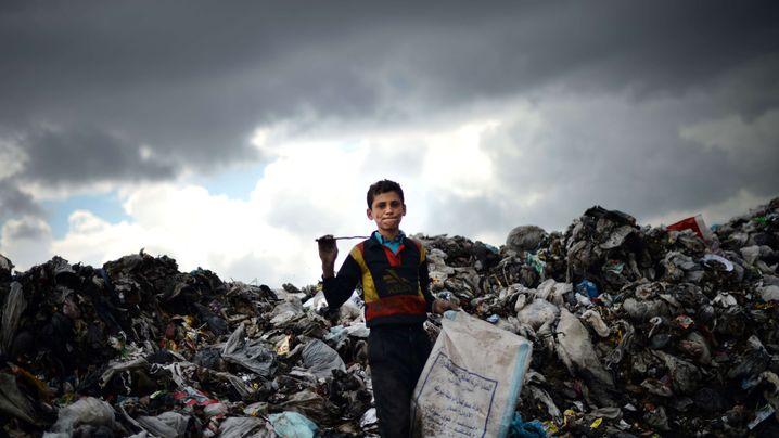 Fotostrecke: Das Leben in einem zerstörten Land