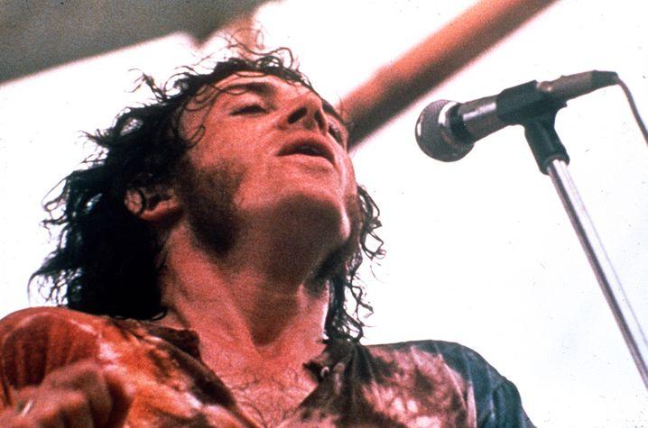 Geburt eines Stars: Joe Cocker auf der Woodstock-Bühne
