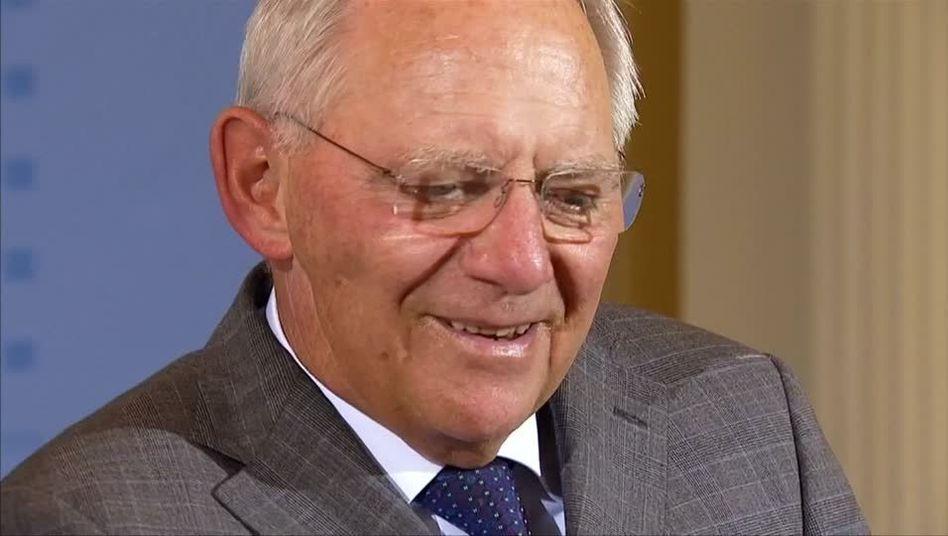 Schäuble: Beliebt bei den Wählern