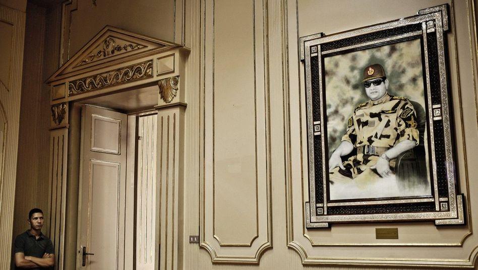 Sisi-Porträt im ägyptischen Präsidentenpalast: »Dunkle Mächte«