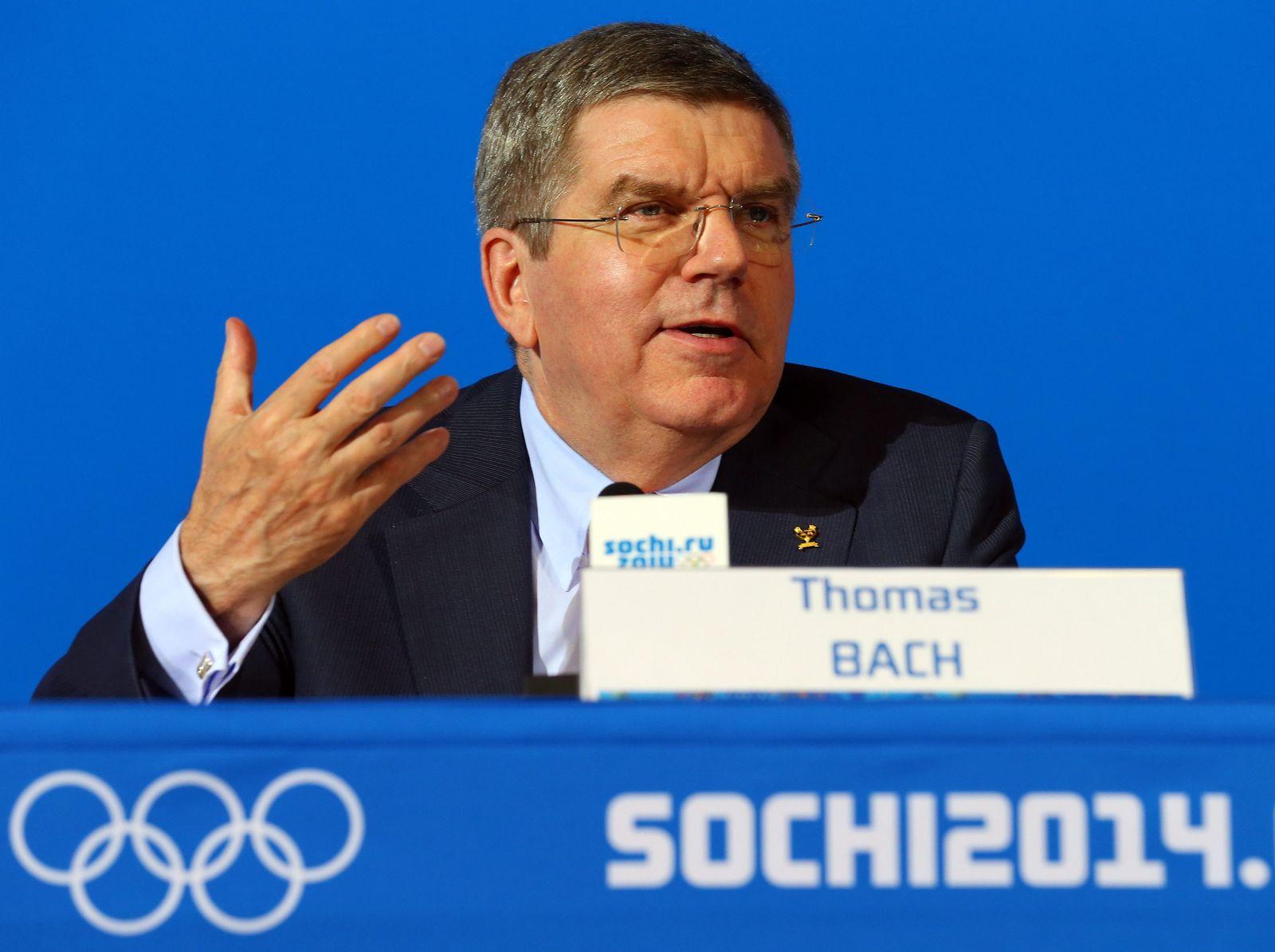 Sotschi 2014 - Pressekonferenz