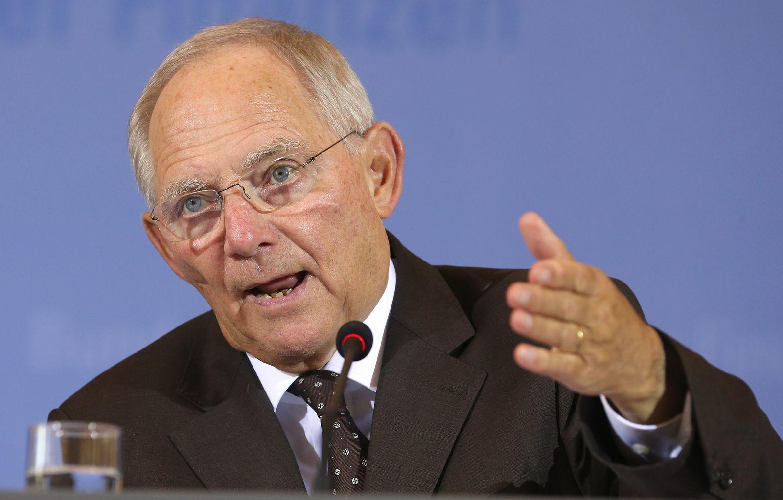 Pk Schäuble zur Steuerschätzung