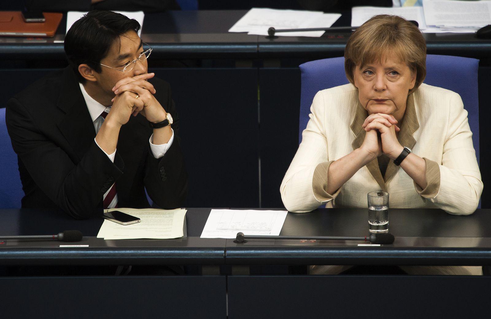 NICHT VERWENDEN Angela Merkel/ Philipp Rösler
