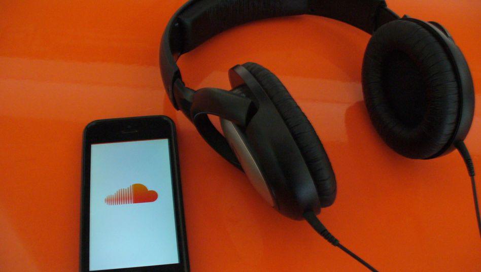 SoundCloud-App auf iPhone: YouTube für Musik