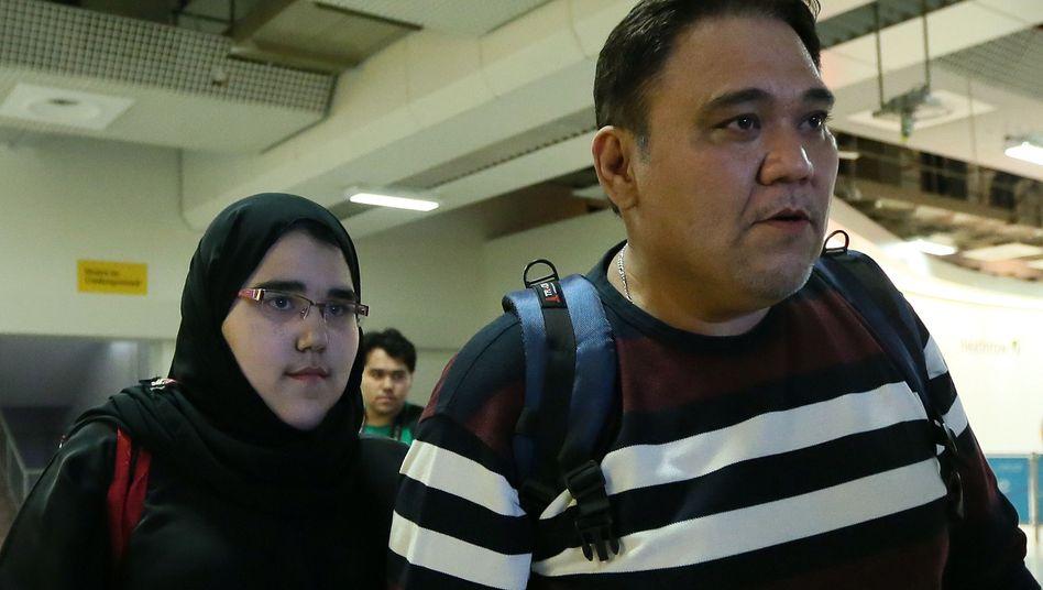 Judoka Shahrkhani, Vater: Start nur mit Kopftuch