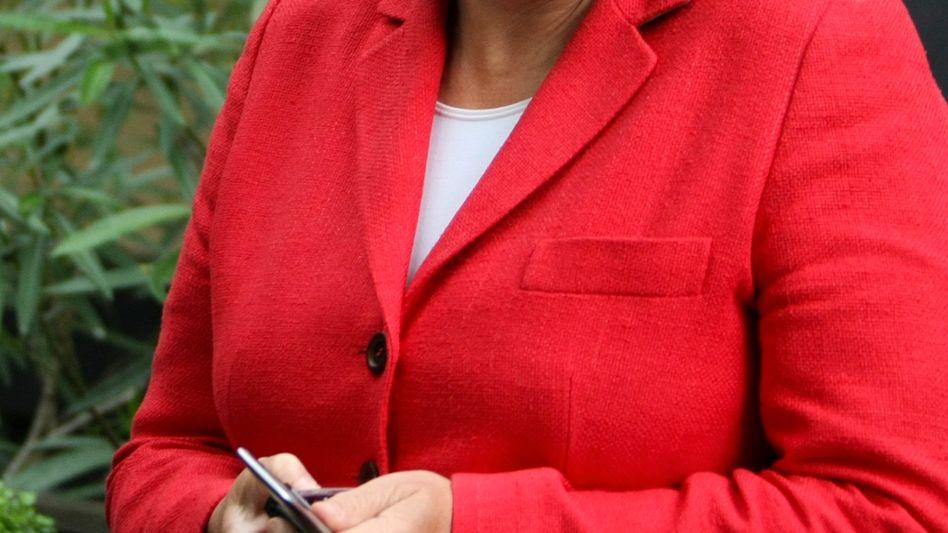 Kanzlerin Merkel: Die CDU kann nach Meinung von Wahlforschern mit etwa 20 Überhangmandaten rechnen