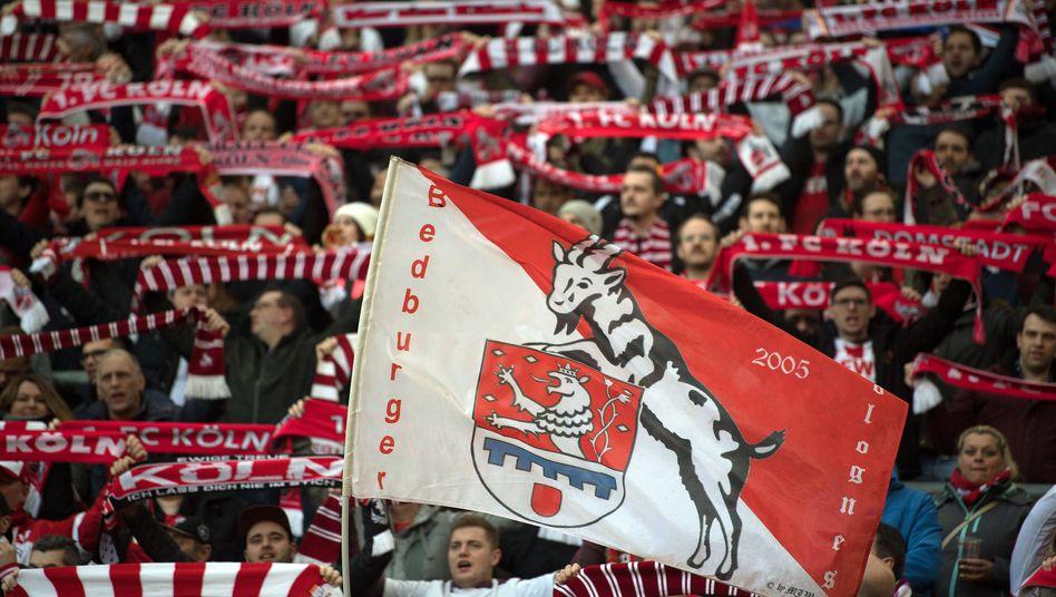Fans des FC (als sie noch ins Stadion durften)