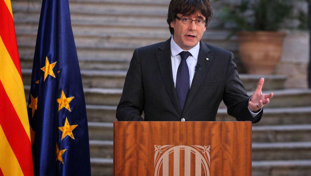 Rede von Carles Puigdemont: Wie geht es jetzt weiter in Katalonien?