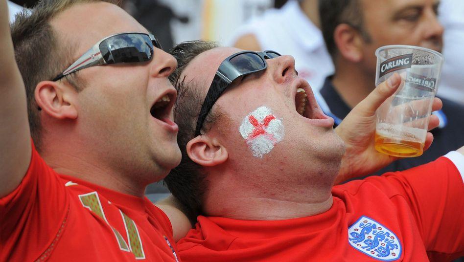 """Englische Fans: """"Es ist wie ein Finale"""""""
