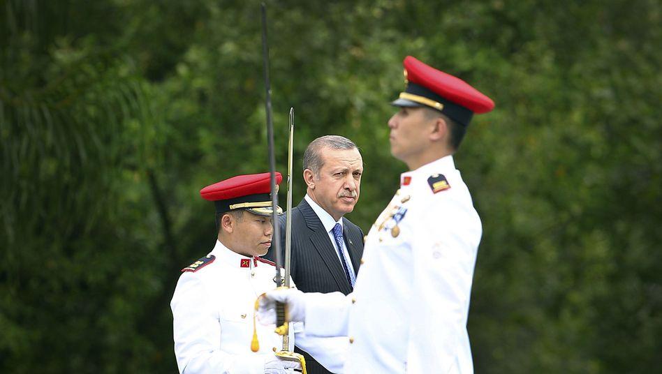 Türkischer Premier Erdogan (in Singapur): Neue Vorwürfe aus der Justiz