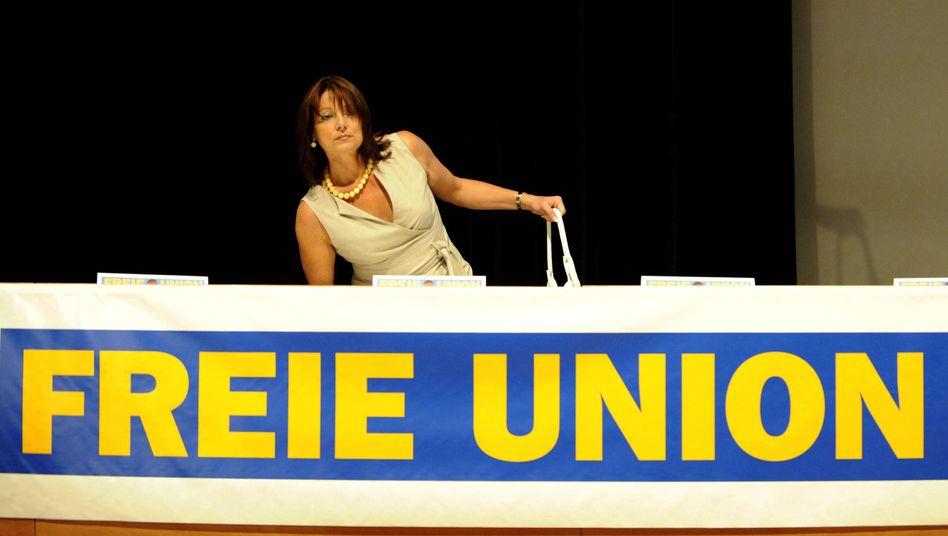 Ich bin dann mal weg: Gabriele Pauli tritt als Chefin der Freien Union zurück