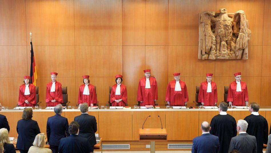 Bundesverfassungsgericht in Karlsruhe: Westdeutsche Dominanz