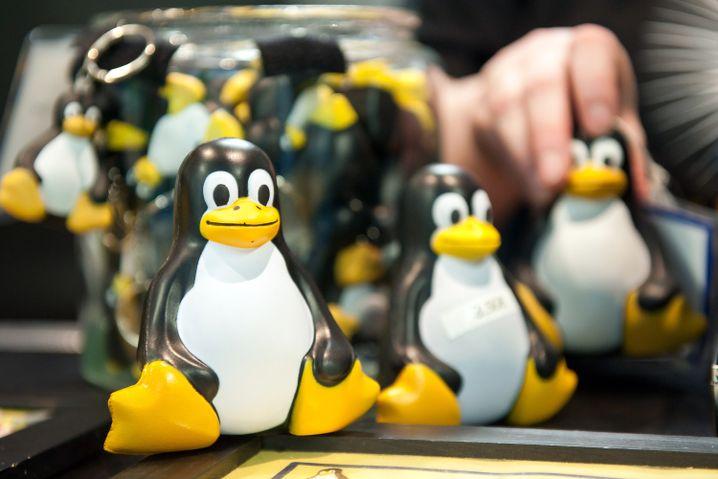 Maskottchen Tux: Seit 20 Jahren sammelt Linux Sympathien - aber nur wenige Nutzer