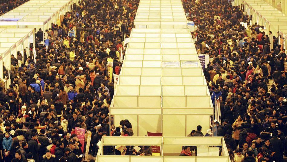 Jobmesse in Shandong: Viele Bauern suchen Arbeit in den Städten