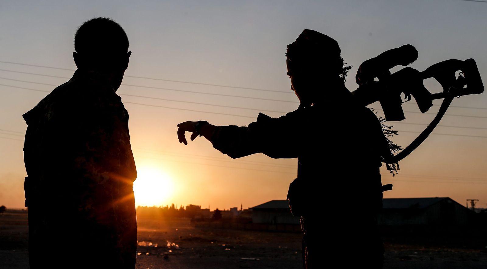 Syrien/ Kurden/ YPG