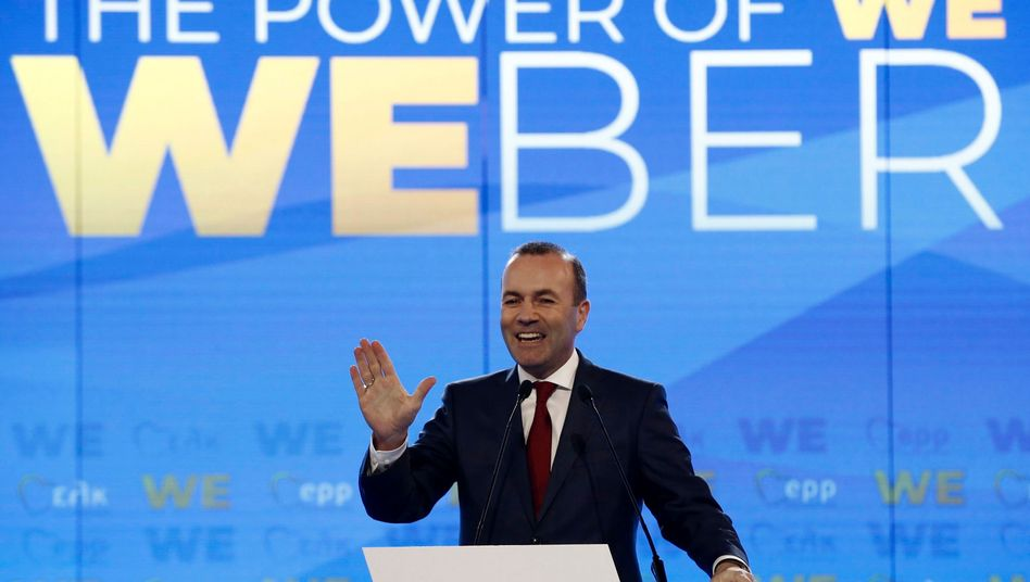 """Manfred Weber in Athen: """"The Power of WE"""""""