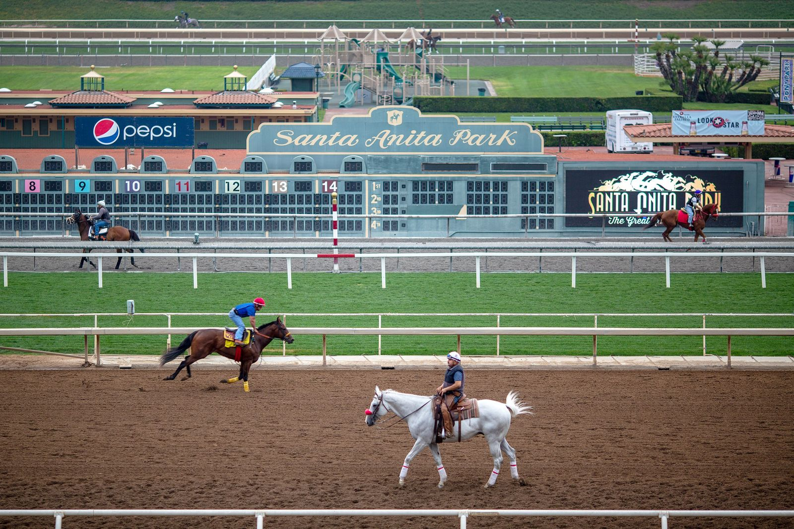 Santa Anita horse racing park