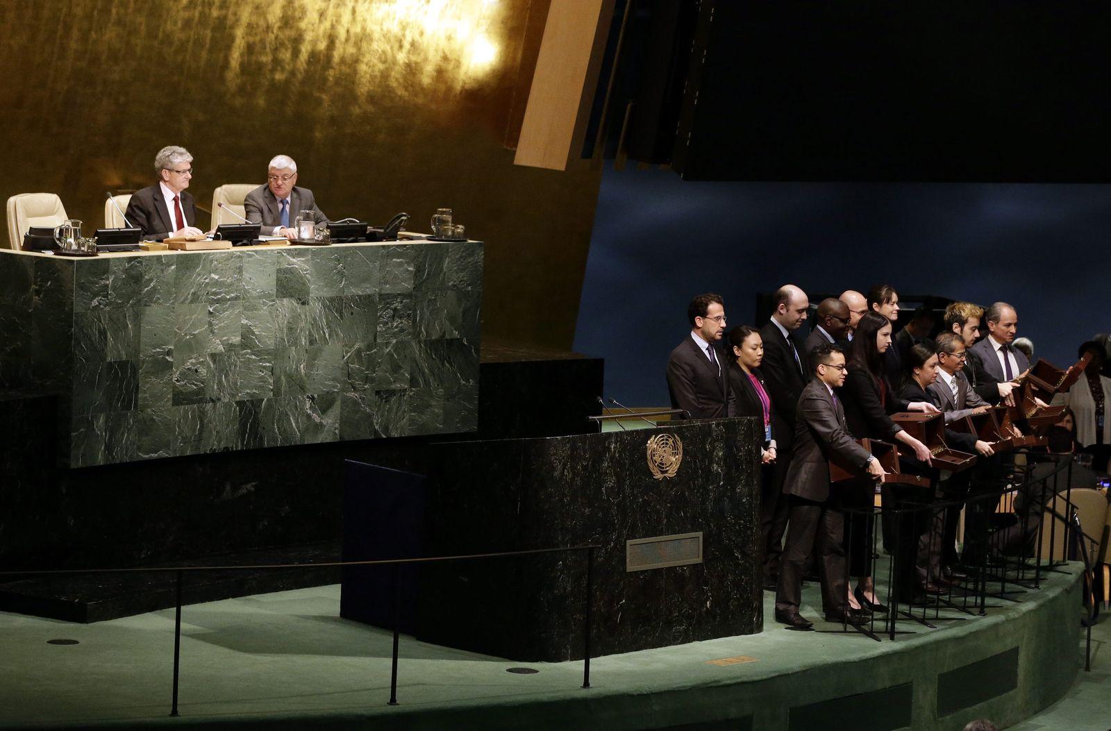 UN security council vote