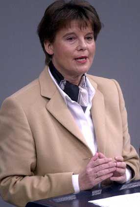 Für relativ unbegrenzte Forschungsfreiheit: Ulrike Flach (FDP)