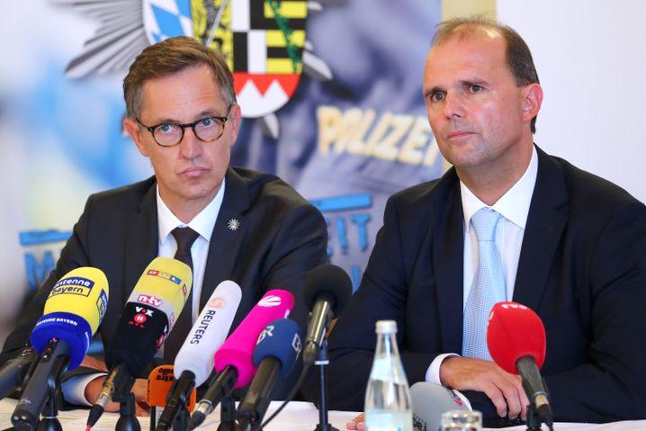 Soko-Chef Ebner und Staatsanwalt Götz