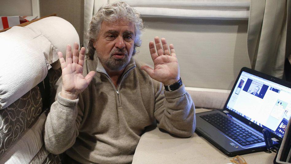 """Italienischer Politiker Grillo: """"Was ist aus Europa geworden?"""""""