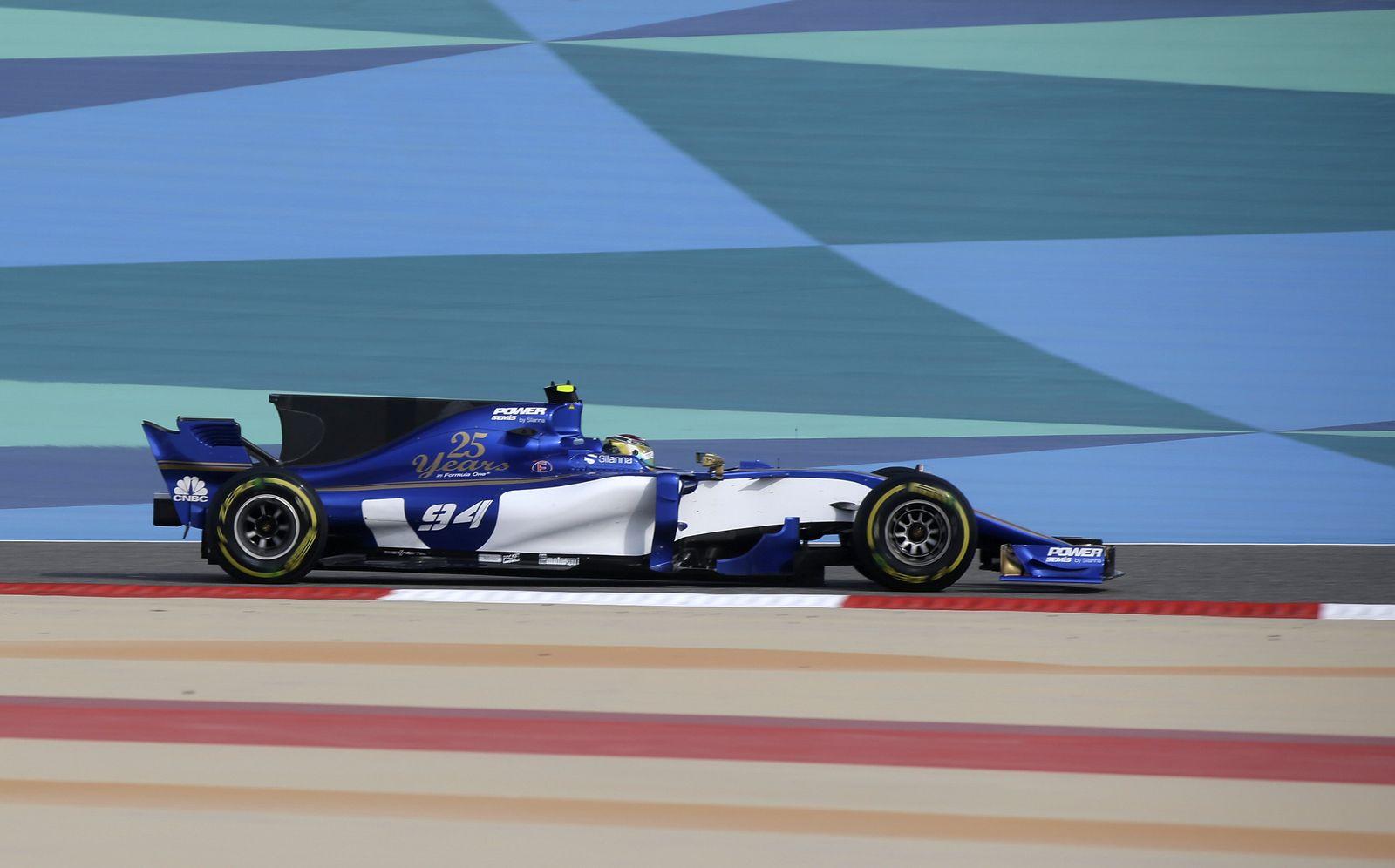 Formel 1 - sauber Wehrlein