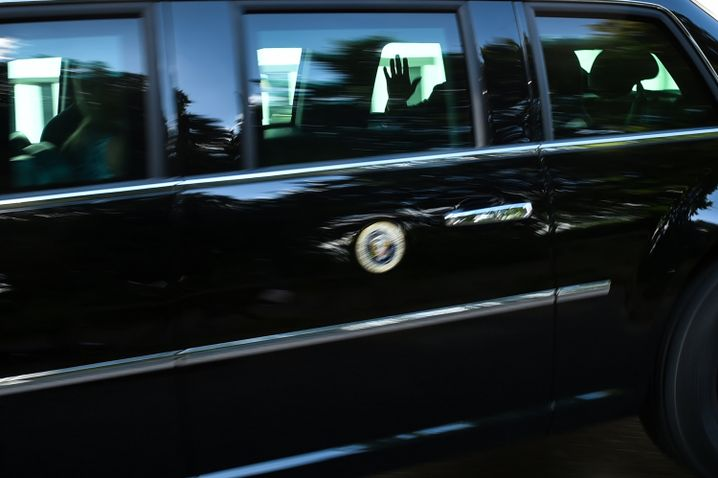 "The ""Beast"": Donald Trump's armoured limousine"