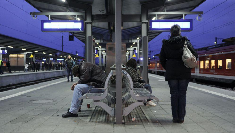 Photo Gallery: Strikes Cripple German Rail System