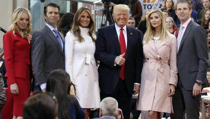 Diese Trumps: Wer ist wer im Familienclan?