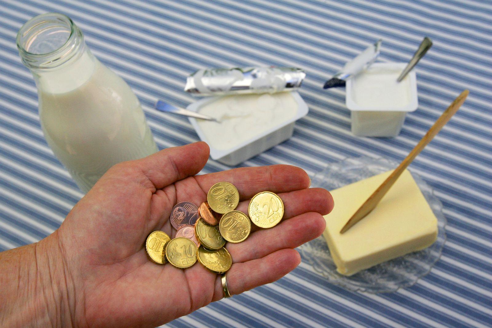 Milchquote / Preise bei Milch und Butter